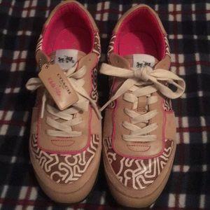 Coach shoes, authentic, size 10